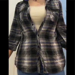 a women's flannel